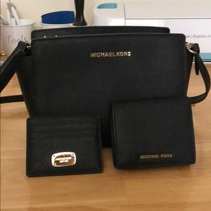Michael Kors purse wallet and card holder